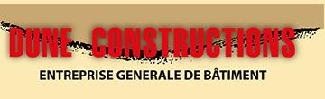 Logo dune constructions entreprise générale bâtiment bordeaux